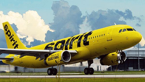 spirit airline a low cost airline that will save you money. Acheap airline to save on tickets