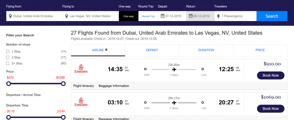 How to search and book flights on matini flights